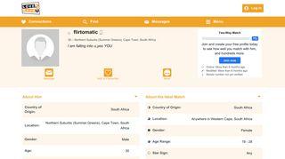 Member Profile: flirtomatic - Online Dating, Dates, Chat, Singles ...
