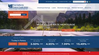 First California Federal Credit Union: Home Page