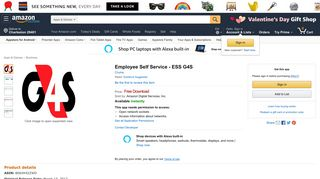 Amazon.com: Employee Self Service - ESS G4S: Appstore for Android