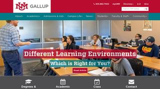 UNM Gallup | The University of New Mexico