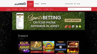 playMGM: NJ Online Casino - Play Casino Games & Slots for Real ...