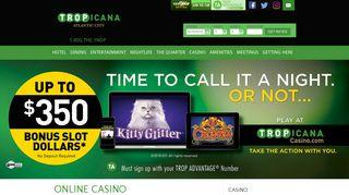 Tropicana Resort Atlantic City | Online Casino
