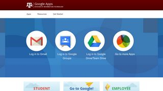 Google Apps at Texas A&M