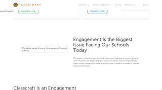 Classcraft - Engagement Management System for K-12 Educators