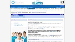 Provider Information - mmis.georgia.