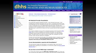 NH Medicaid Provider Information | NH Medicaid | New Hampshire ...