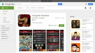 Gangster Paradise - Apps on Google Play