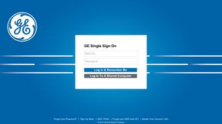 GE : Single Sign On