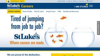 Careers - St. Luke's