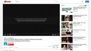 Gemini2 Software Review Gemini 2 System Software By Brandon ...