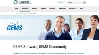 GEMS | Harris ERP