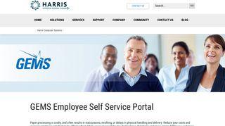 GEMS Employee Self Service | Harris ERP
