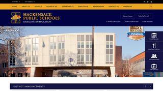 Hackensack Public Schools / Homepage