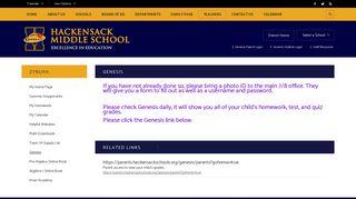 Zybura / Genesis - Hackensack Public Schools