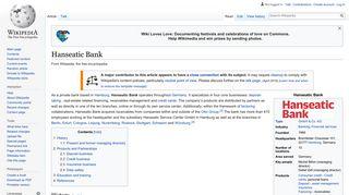 Hanseatic Bank - Wikipedia