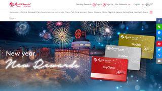 Genting Rewards - Overview - Resorts World Genting
