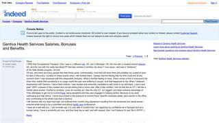 Gentiva Health Services Salaries, Bonuses and Benefits. - Gentiva ...