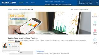Federal Bank Online Share Trading | Fed-e-trade | Invest in Shares ...