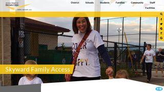 School District of Brown Deer - Skyward Family Access