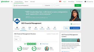 MD Financial Management Reviews   Glassdoor.ca