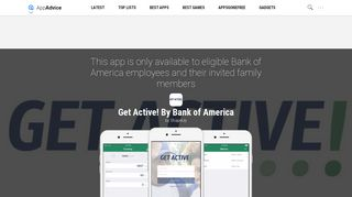 Get Active! By Bank of America by ShapeUp - AppAdvice