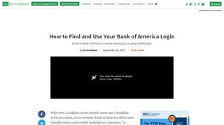 How to Find and Use Your Bank of America Login   GOBankingRates