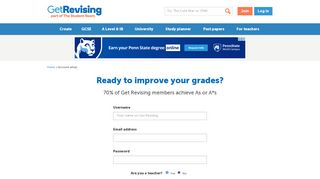 Ready to start learning? - Get Revising
