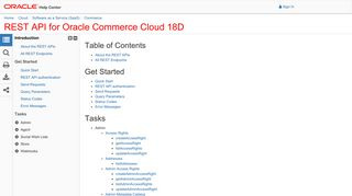 REST API for Oracle Commerce Cloud 18C-mp - getPrice