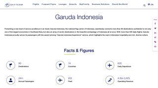 Garuda Indonesia   GarudaMiles   SkyTeam