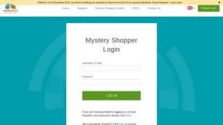 Mystery Shopper Login - Market Force Information