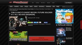 Game Fix / Crack: Tom Clancy's Ghost Recon: Future Soldier v1.7 All ...