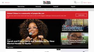 Global Citizen.org