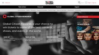 Global Citizen Rewards