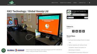 GX2 Technology / Global Gossip Ltd - Fiji Hotel and Tourism ...