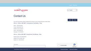 Contact Us - Skanska EquityGateway