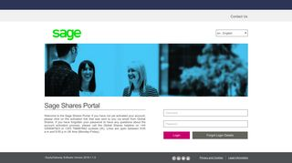 Sage Shares Portal