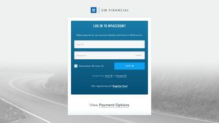 GM Financial: Log In Account
