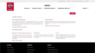 NMAC Payment Options - NMAC Finance Account Manager
