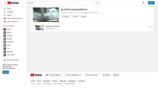 go.hallco.org-googledrive - YouTube