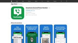 SmartLine Second Phone Number on the App Store - iTunes - Apple
