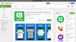 GoDaddy SmartLine 2nd Number – Apps on Google Play