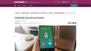 GoDaddy SmartLine Review | TechRadar