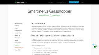 Smartline vs Grasshopper - Comparing Virtual Phone System Providers