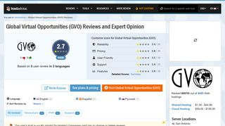 Global Virtual Opportunities (GVO) Reviews by 5 Users & Expert ...