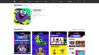 GoNoodle on the App Store - iTunes - Apple