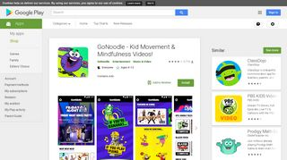 GoNoodle - Kid Movement & Mindfulness Videos! - Apps on Google Play