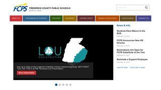 FCPS: Frederick County Public Schools