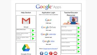Google Apps Start Page - Google Sites