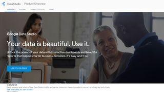 Data Studio Product Overview - Google