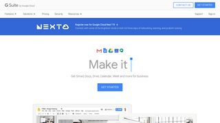 G Suite: Collaboration & Productivity Apps for Business - Google
